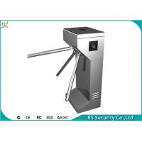 Semi Automatic Tripod Turnstile Security Systems Compatic With IC Card Manufactures