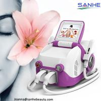 Sanhe Newest Ipl + e-light+ SHR 3 in 1 Mini Hair removal device/CE/ hair removal portable