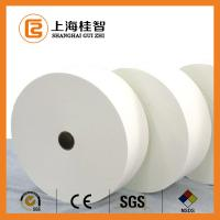 China White Polyester Non Woven Fabric Cotton Nonwoven Raw Material Customised on sale