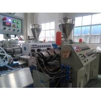 PVC Ceiling Panel Plastic Sheet Extrusion Equipment With 3-Roller Calender Manufactures