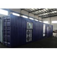 China 400V / 3 Phase Container Diesel Generator , CUMMINS Diesel Generator 1500 KVA on sale