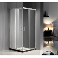Convenient Comfort Sliding Glass Door Shower Enclosure , Glass Enclosures For Showers Manufactures