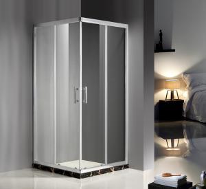 Quality Convenient Comfort Sliding Glass Door Shower Enclosure , Glass Enclosures For for sale