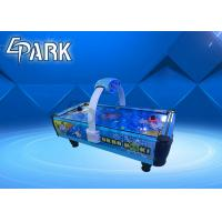 Turbo Hoki Kids Air Hockey Race Arcade Game Machine With Wooden Cabinet + Metal Frame Manufactures