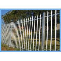 Powder Coated D & W Steel Palisade Fence Black Finished Easily Assembled Manufactures