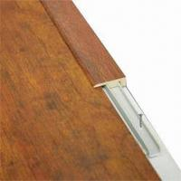 Buy cheap Laminate flooring molding F-type end cap, made of HDF from wholesalers