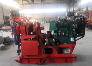 Professional Core Drill Rig XY-2B Diesel Power Type For Geological Investigatio Manufactures