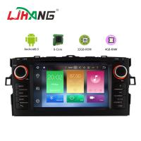 Android 8.0 Toyota Car DVD Player With 7 Inch Touch Screen MP3 MP4 Radio Manufactures