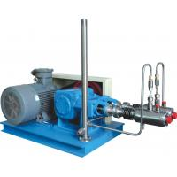 Steel Blue Color High Efficiency Automatic Cryogenic Liquid Pump For L-CNG Cylinders Filling Manufactures