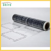 No Residue Adhesive Stair Protection Film , Plastic Floor Protector Roll LOGO Printable Manufactures