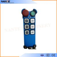 Single Speed Blue Color Wireless Hoist Remote Control Used For Industrial Work Manufactures