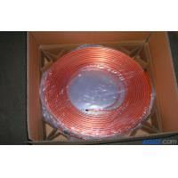T2 Split Air Conditioner Coil , Oval Mill Polished Copper Pipe Coil H60 Manufactures