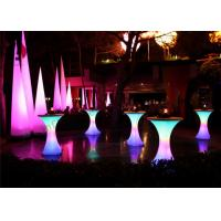 Colorful Inflatable Cone , Light Cylindrical Inflatable Pillar For Party Decoration Show Manufactures