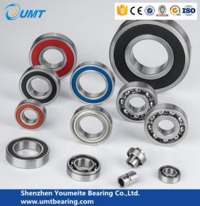 C3 clearance Deep Groove Ball Bearings wardrobe sliding door wheels 6001 2Z bearing Manufactures