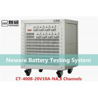 Low Heat Generate Neware Battery Testing System , 18650 Battery Capacity Tester Manufactures