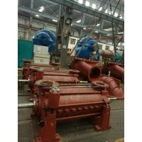 Red Color Multistage Submersible Water Pump , Two Stage Centrifugal Pump Manufactures