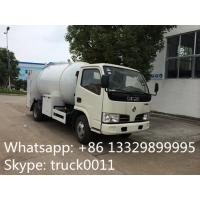 dongfeng mini LPG Refilling Tanker Truck with 5500L LPG Refilling System,hot sale small bulk lpg gas dispensing truck Manufactures