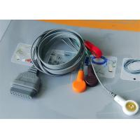 Snap Electrode Ecg Accessories Holter Cable 5 Leads For Patient Use Manufactures