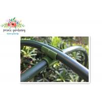 Heavy Duty Green Flower Garden Plant Supports Stake With Plastic Coated Manufactures