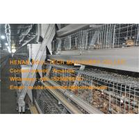 Poultry Farm Steel Silver A Type Battery Small Chicken Cage Coop for Chicken Shed with Automatic Feeding&Drinking System Manufactures