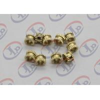 CNC Lathe Machine Parts,Brass Plastic Inserts With M5 Internal Thread Manufactures