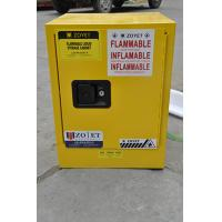 Metal Chemical Storage Cabinets , Dangerous Goods Cabinets For Flammable Liquid Manufactures