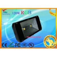 Aluminum Alloy 120W RGB LED flood light AC100 - 240V with 2 years warranty Manufactures