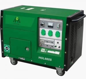 China 5.5KW / 6KW OHV Gasoline Power Generator , Silent Generator Set on sale