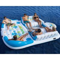 Quality Direct supplier wholesale huge 6 person inflatable water floating island for sale