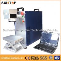 Quality Bearing portable fiber laser marking machine small size desktop model for sale