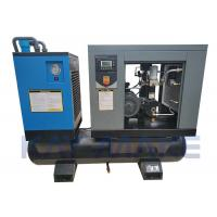 Buy cheap 15HP Combined Screw Air Compressor With Dryer Low Temperature Difference Design from wholesalers