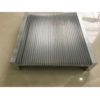 6061 Alloy CNC Milling Large Aluminium Heat Sink Profiles 300MM Width Manufactures