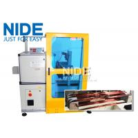 Horizontal Toroid Full Automatic Coil Winding Machine For Big Wire Electric Motor Stator Manufactures