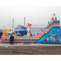 2017 Fashion Kids Giant Inflatable Jumping Bounce,Inflatable Bouncer With Slide