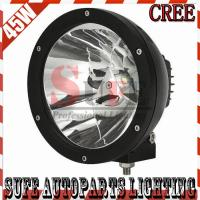 7INCH 45W CREE LED WORK DRIVING LIGHT SPOT LIGHT FOR OFFROAD MACHINERY 4WD ATV SUV Manufactures