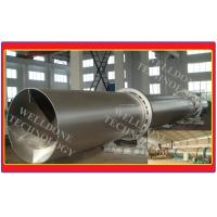 Cassava Flour Rotary Kiln Dryer 120 - 500℃ Drying Temperature CS Material Manufactures