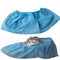 Blue Disposable Non Woven PP Shoe Cover Manufactures