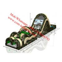 60ft Black Ops Obstacle Course with Slide Manufactures