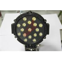 Quality Spot beam 12 Volt Waterproof 51W LED Driving Lights Led Tractor Work Lights with PMMA Lens for sale