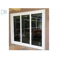 Quality Anti Aging Aluminium Doors And Windows , Double Glass Sliding Window For Residential for sale