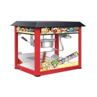 Painting Iron Countertop Popcorn Machine With Organical Glass For Snack Shop Manufactures