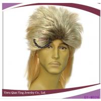 tow color blond mullet mens long hair  punk wigs Manufactures