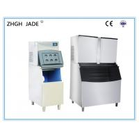 Automatic Ice Cube Maker Machine Water Cooling Mode 10A 1940Ibs / Day Manufactures