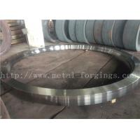 Max OD 5000mm A350 LF3 LF6 Carbon Steel Forged Rings  Rough Machined Q+T Heat Treatment Manufactures