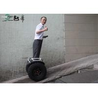 Black Electric Chariot E Balance Scooter Rechargeable Battery And Dual System Manufactures