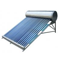 low cost & low pressure solar water heater Manufactures