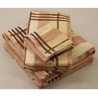 Buy cheap solid color cotton dobby terry towels from wholesalers