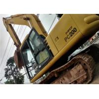 Japan Second Hand Komatsu Excavator PC220 6 , No Any Damage Used Komatsu Backhoe Manufactures