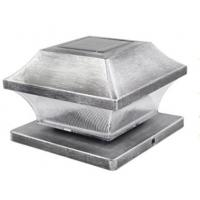 Classy Aluminum Imperial Solar Deck Post Cap Lights / 3500K - 5500K Solar Pillar Lights Manufactures