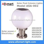 Solar Post Column lights Solar Fence Top Pillar Outdoor Lighting 20cm25cm30cm40c
